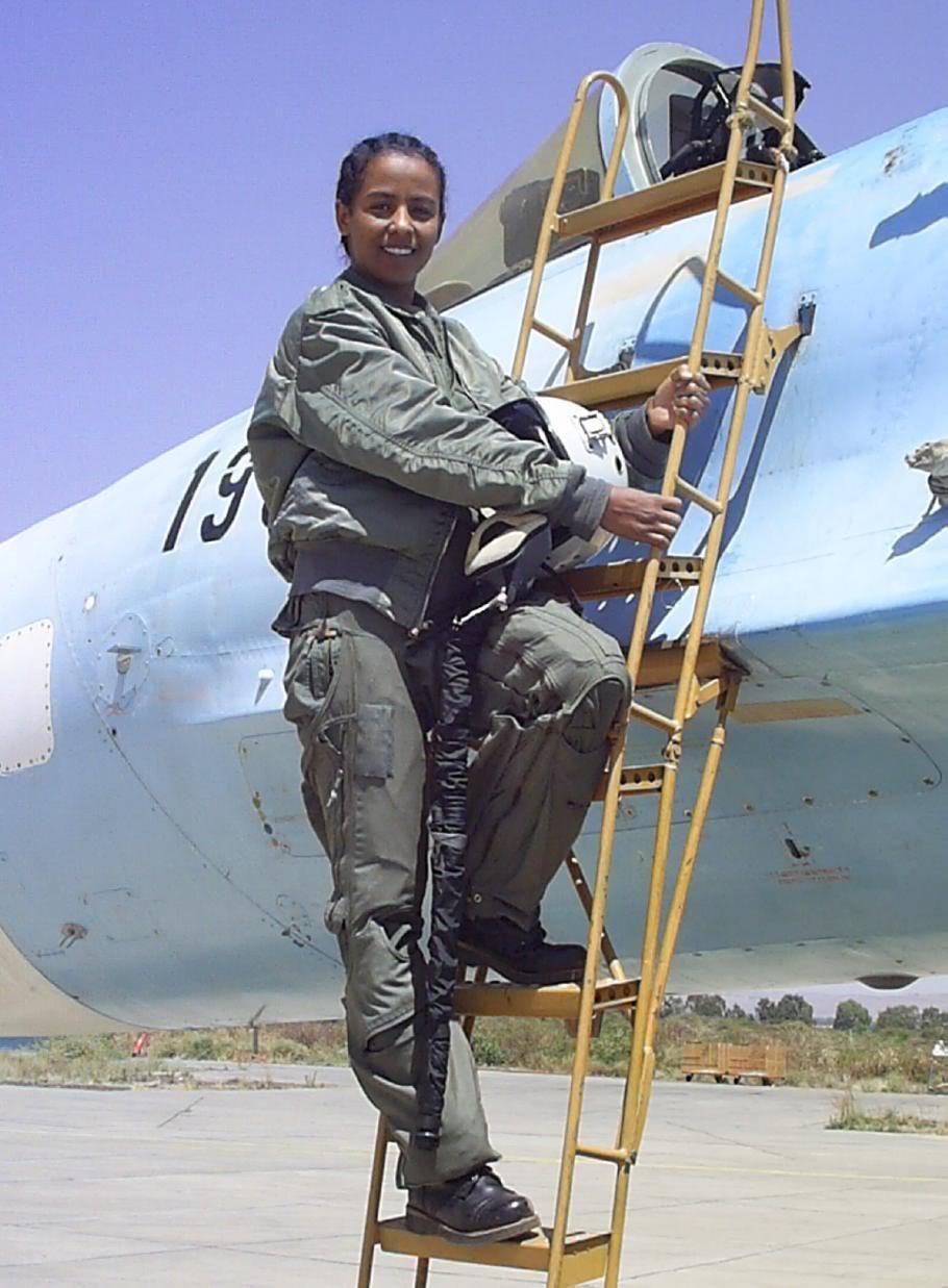 Ethiopian National Defense Force (ENDF) Etgiopia_Lt1_Haymanot_Hailemariam_ETAFS