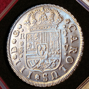 4 reales de Carlos III del año 1761. Ceca Sevilla. JV. Si_IMG_20161106_131415