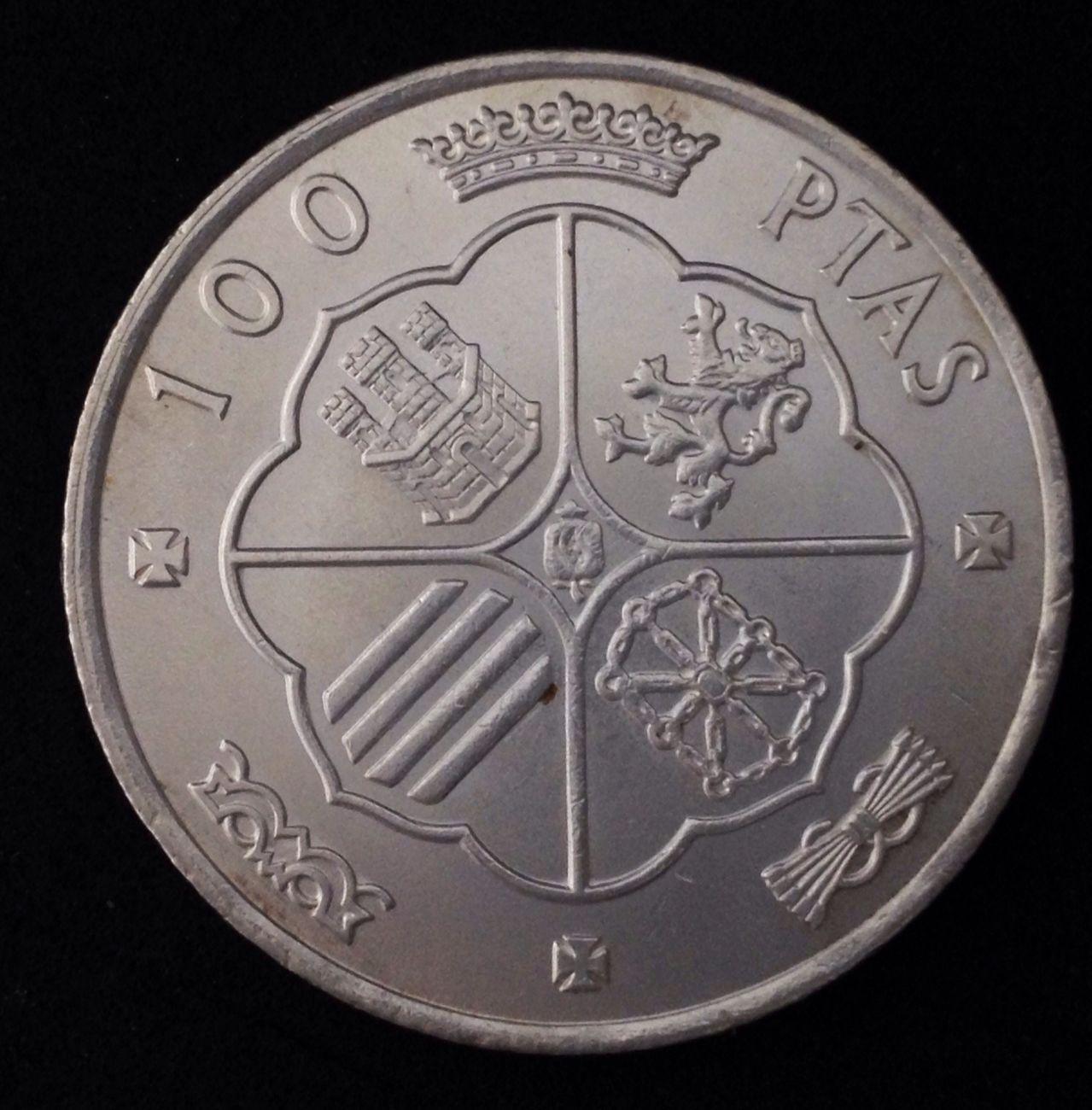 100 pesetas 1966 *66. Estado Español. Image