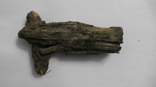 Кусочек дерева с гильзой. Db21bd5588d1