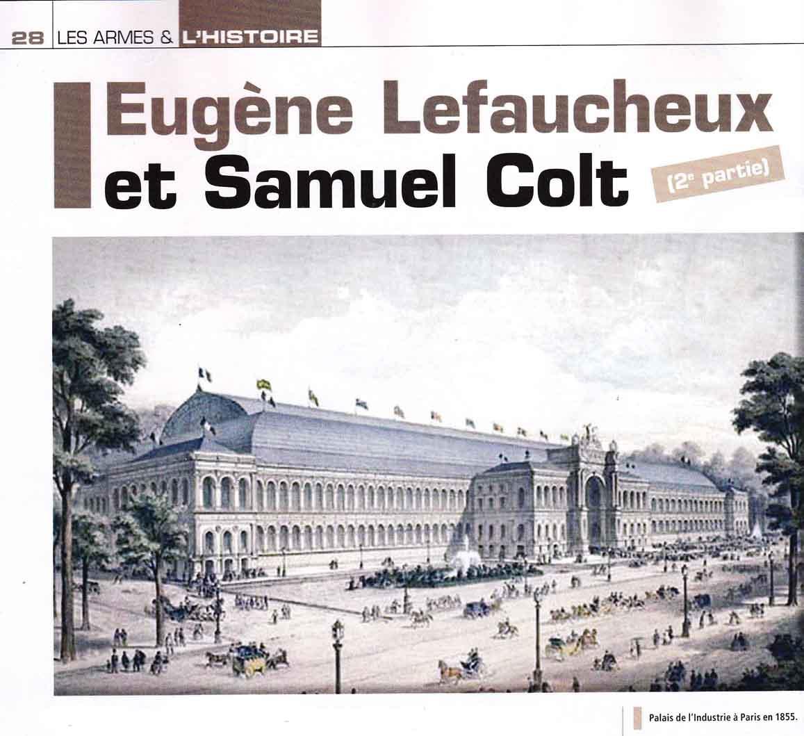 """Les relations entre """"Samuel Colt et Eugène Lefaucheux"""" Aaa"""