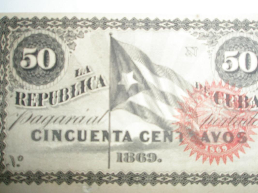 50 centavos Cuba 1869 P8160242