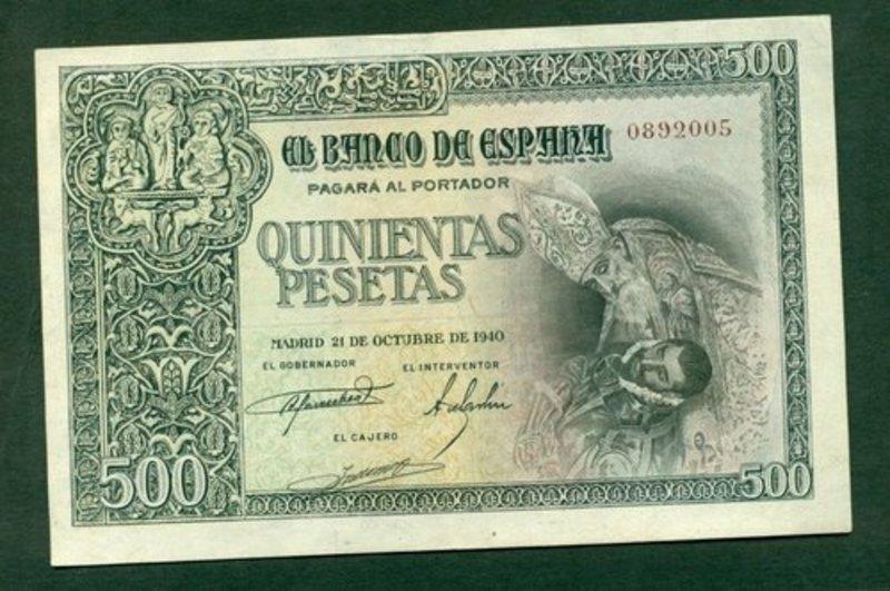 Buen billete de 500 pesetas de 1940!!!!!!Conde Orgaz. Conde_orgaz