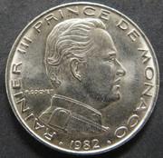 1 Franc. Mónaco. 1982. París MON_1_Franco_anv