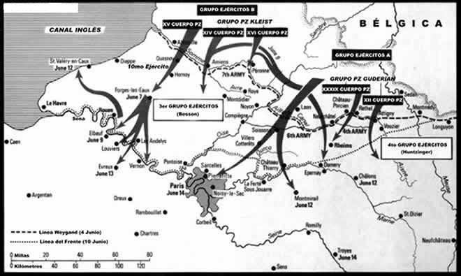 Invasión de Francia y Países Bajos (10-5-1940) Francia4_14junio