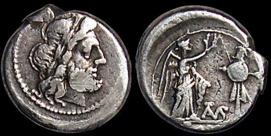 Denominación de monedas en la antigua Roma: La República. 0_0victoriato
