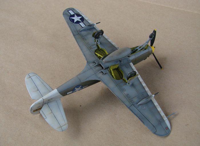 P-39Q Airacobra, 1/72, Academy (rebuild) DSC02948