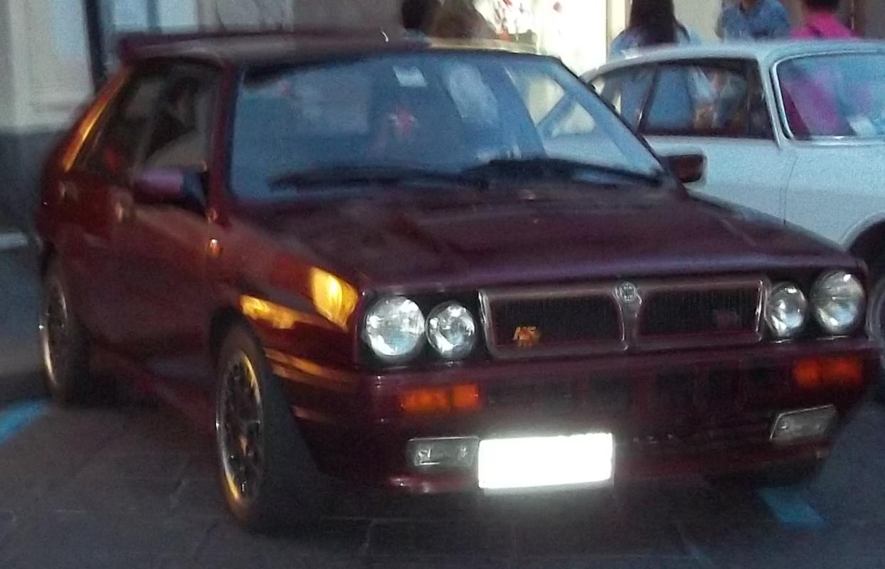 Mostra auto a Giarre (CT) 02/06/2017 Delta