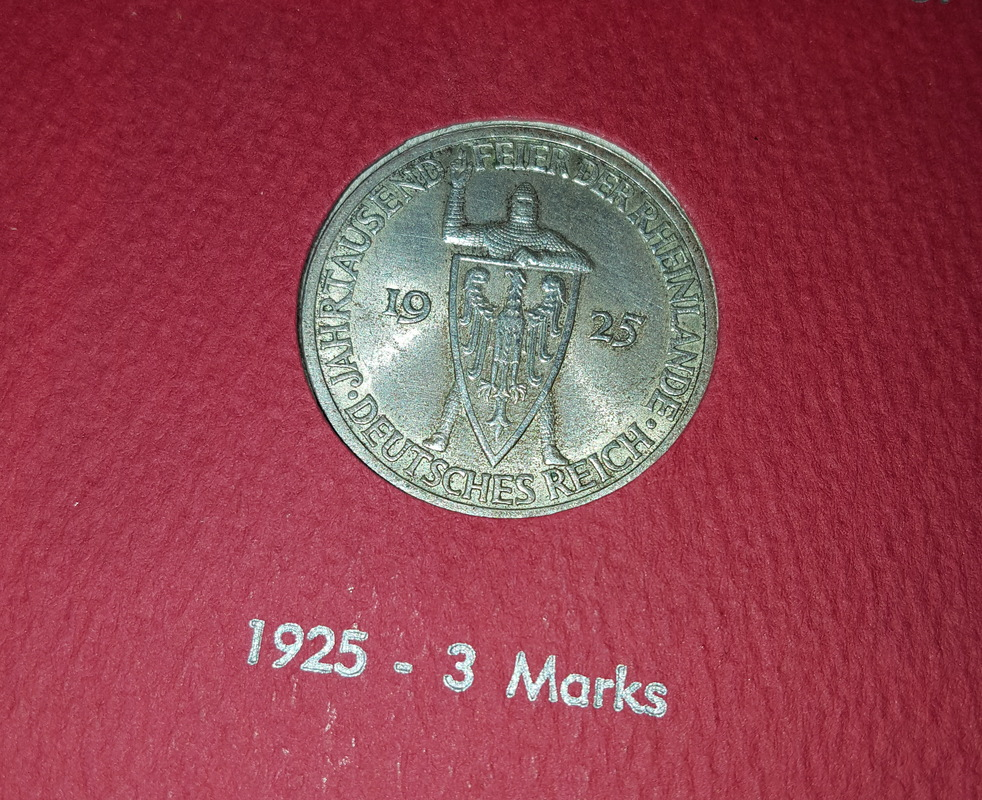 Monedas Conmemorativas de la Republica de Weimar y la Rep. Federal de Alemania 1919-1957 20170609_081344