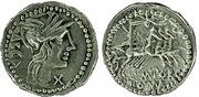 REPUBLICANAS - Página 2 M_Porcius_Laeca_Roman_Republic_Denarius_125_B_C