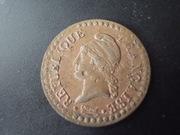 1 Céntimo, año 7, Francia ( y con propina ) DSCN1517