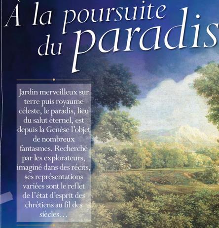 l'origine de l'idée de paradis chrétien Image