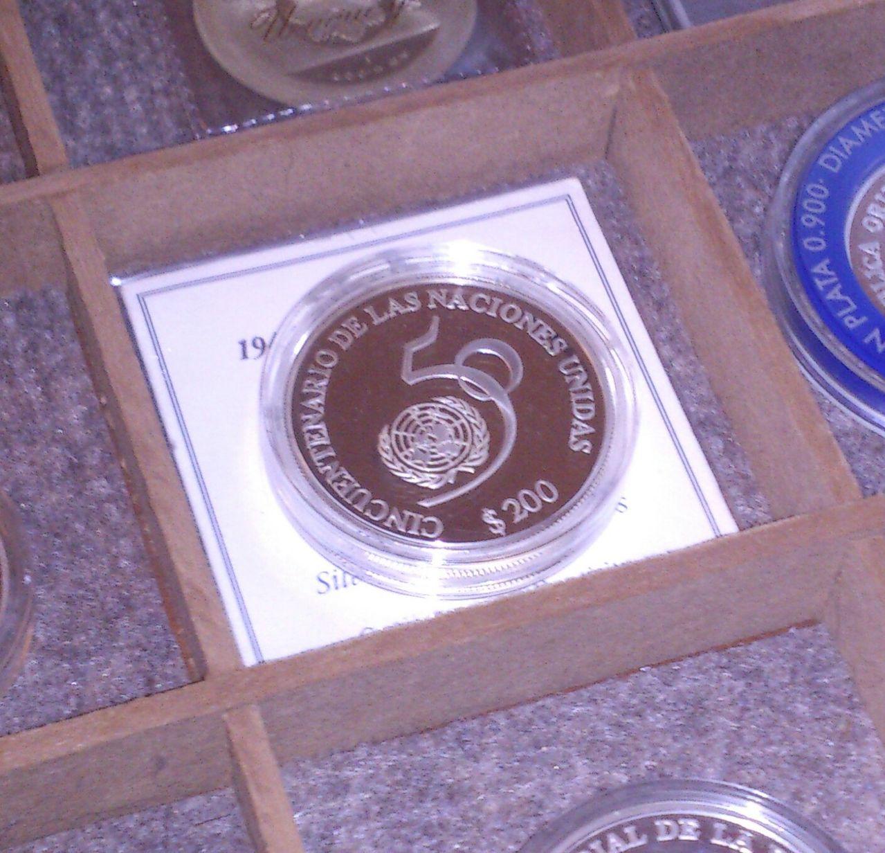 Monedas conmemorativas de Uruguay acuñadas en plata 1961 - Presente. IMG_20150905_WA0008_1
