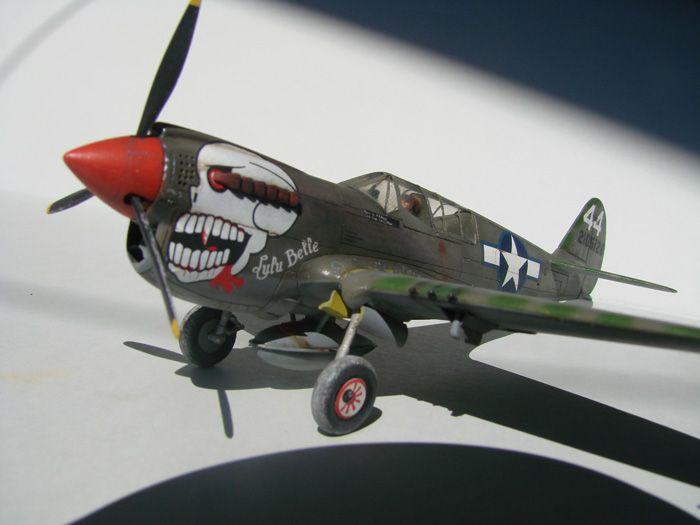 P-40N(rebuild), Hasegawa, 1/72 DSC03746
