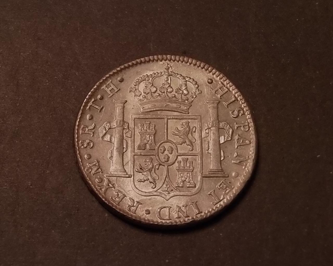 8 reales Carlos IIII 1807 Mexico  Para Emiliano y Lanza P8190528_2