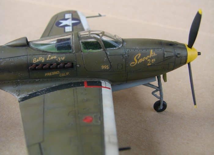 P-39Q Airacobra, 1/72, Academy (rebuild) DSC02945