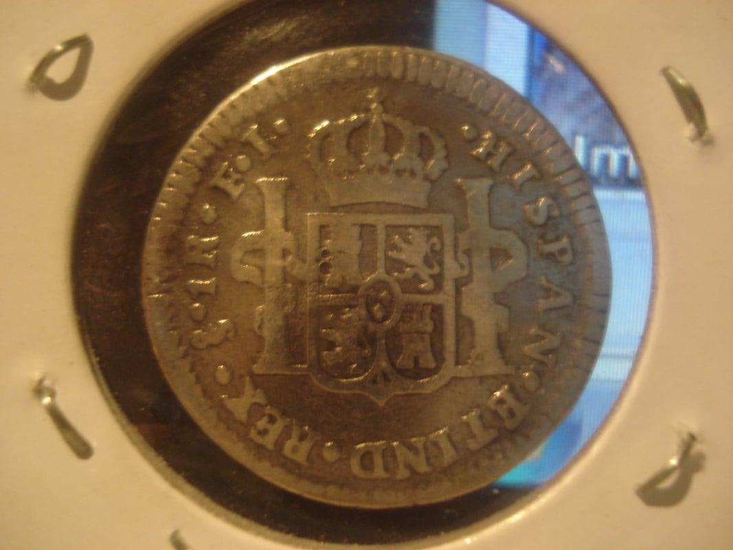 1 real 1814. Fernando VII. Santiago Otras_008