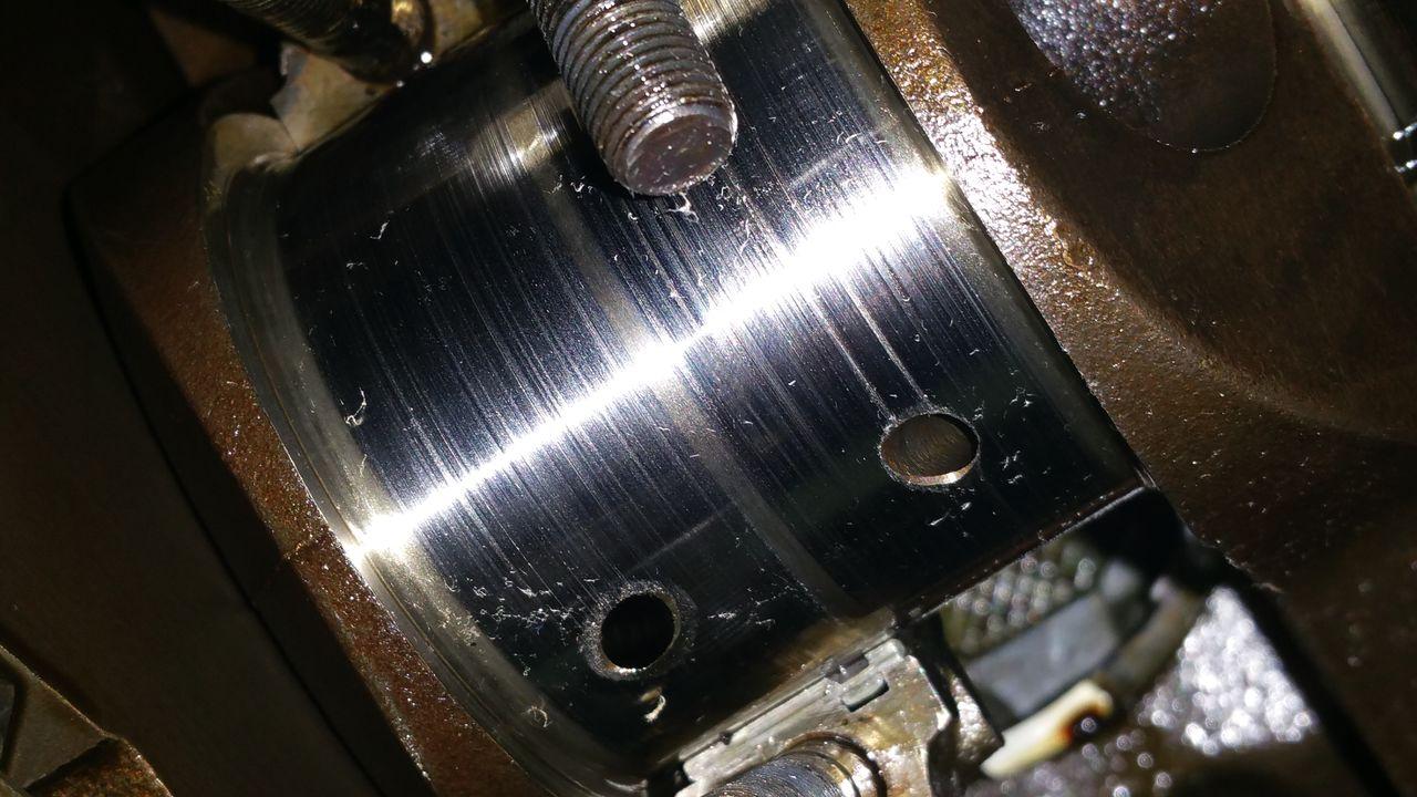 Engine Knock worn bearings 20151011_161025