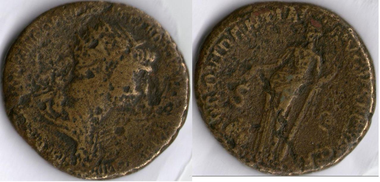 Dupondio de Trajano Anverso_y_reverso