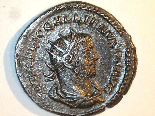Antoniniano Galieno. VIRTVS AVGG. Ceca Samosata (Asia). Image