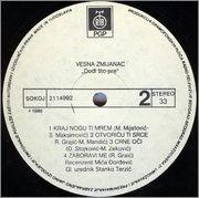 Vesna Zmijanac - Diskografija  1986_1_z_2