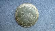 8 Escudos Carlos IV popayan 1801 P1050653