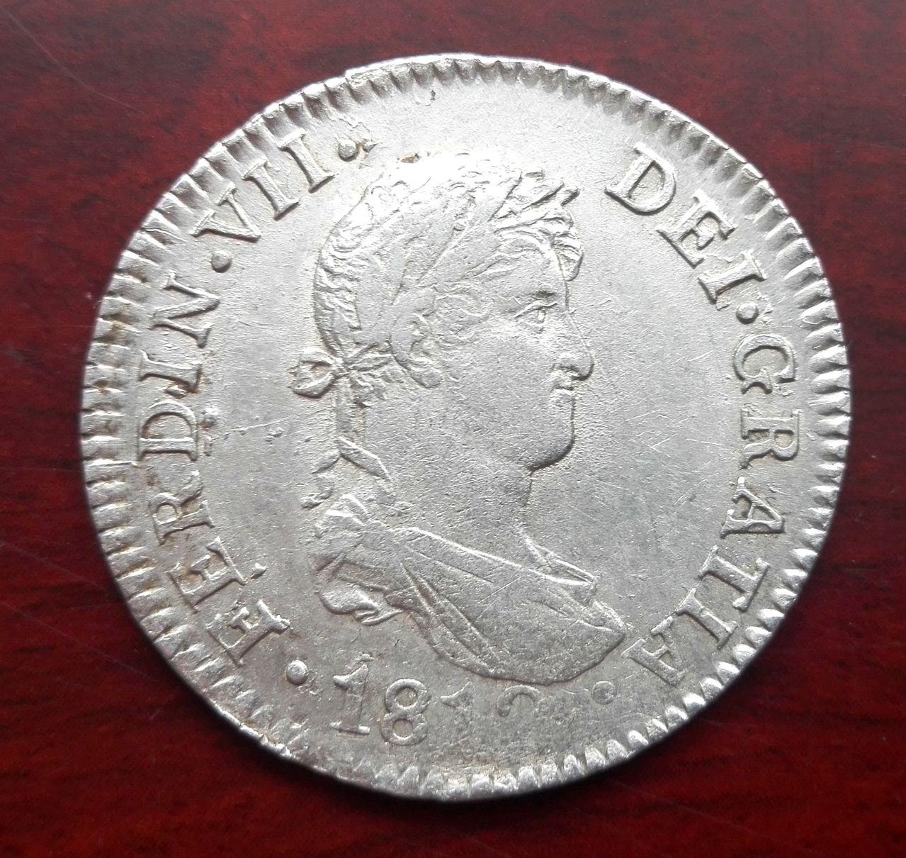 2 reales 1812 Fernando VII, Cádiz 2_reales_1812_cadiz