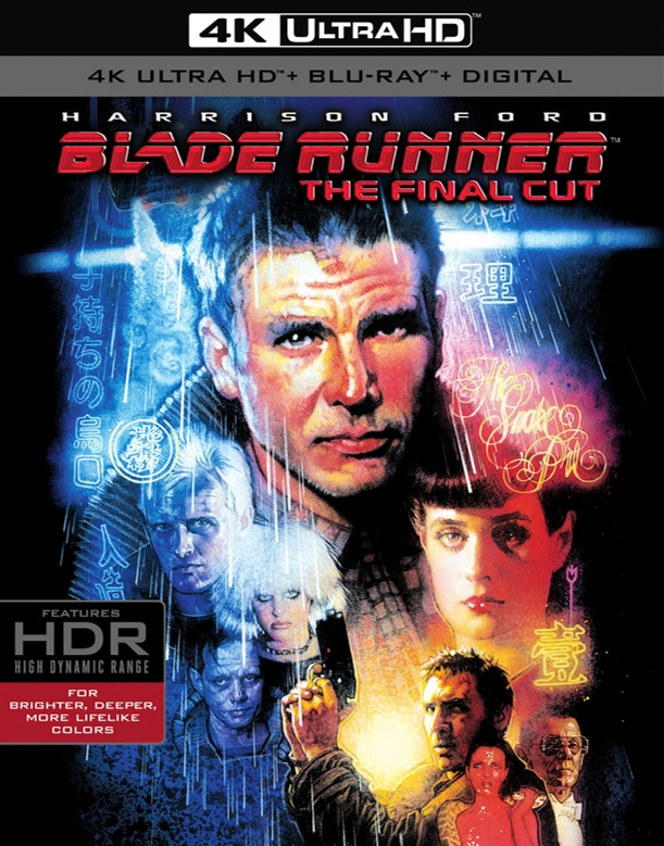Blade Runner: The Final Cut 4K ULTRA HD hits September 5th! THEFINALCUTULTRA