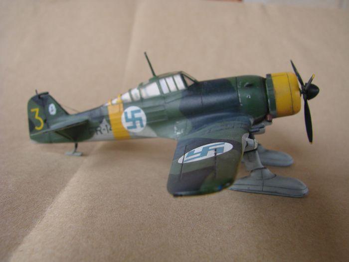 Finski Fokkeri D.XXI, Special Hobby, 1/72 DSC01481