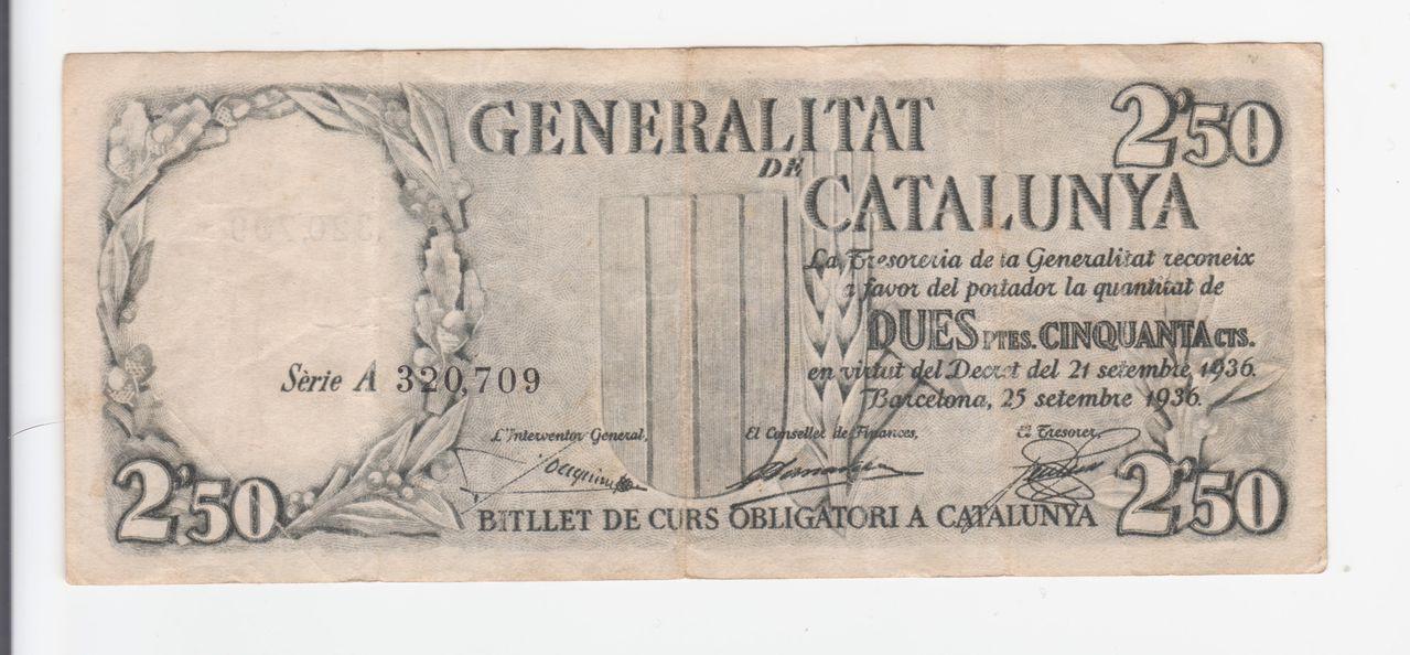 2,50 Pesetas 1936, (Generalitat de Catalunya) 2_50_cataluya