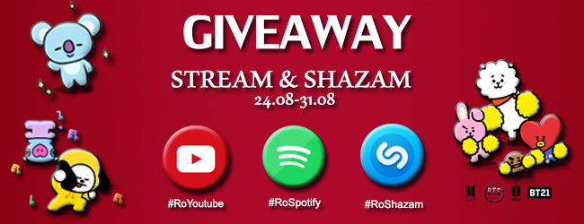 [Proiect]Stream/Shazam Giveaway