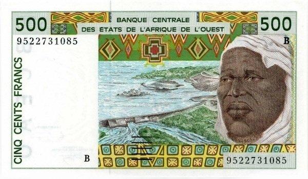 Billetes colonias francesas 500-_Francs_1