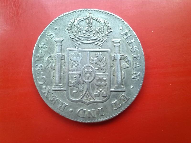 8 reales de Fernando VII 1821 Guadalaxara  IMG_20150519_180828