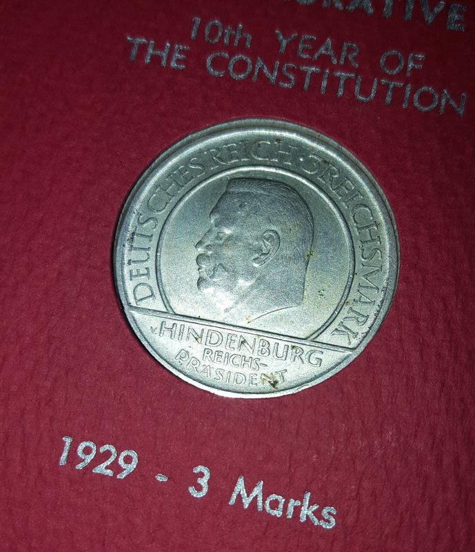 Monedas Conmemorativas de la Republica de Weimar y la Rep. Federal de Alemania 1919-1957 20170609_081414