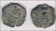 2 maravedís de 1680. Carlos II  Image