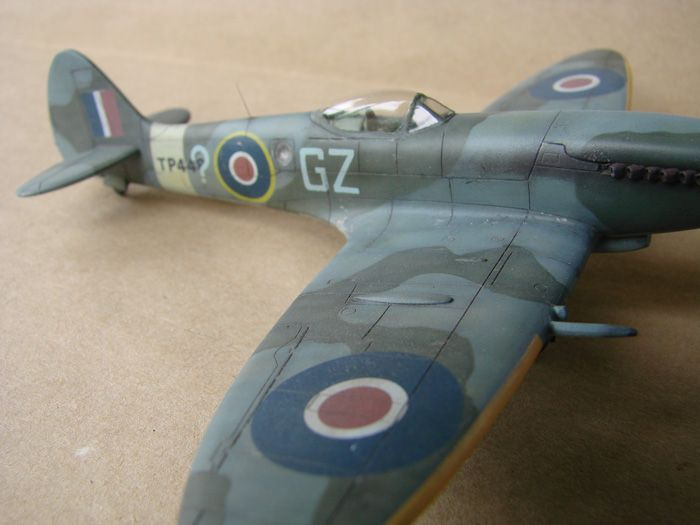 Spitfire Mk.XVIII FR, MPM, 1/72 DSC00428