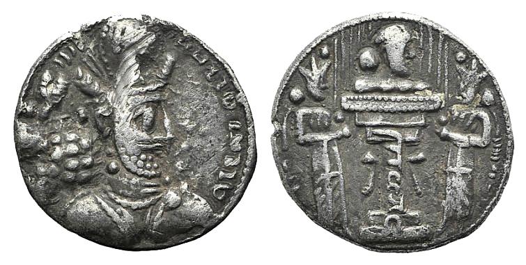 Dracma. Cosroes II. Imperio Sasánida. Merv (En el actual Turkmenistán). Año 30 de reinado (619-620). - Página 2 1792714