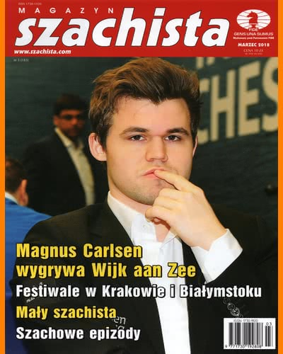 CHESS PERIODICALS :: Magazyn SZACHISTA (Polish Chess Monthly Magazine) Ms_2018-03
