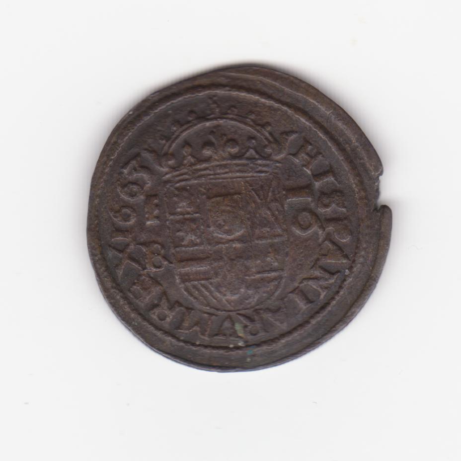 16 maravedís 1663. Felipe IV, Segovia 16_maravedis_felipoe_IV_001