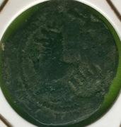 2 maravedís de Felipe II ceca de Cuenca con resello de Felipe III IMG_4308