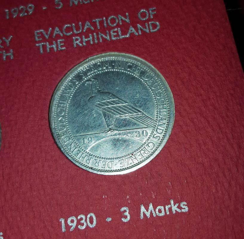 Monedas Conmemorativas de la Republica de Weimar y la Rep. Federal de Alemania 1919-1957 20170609_081441