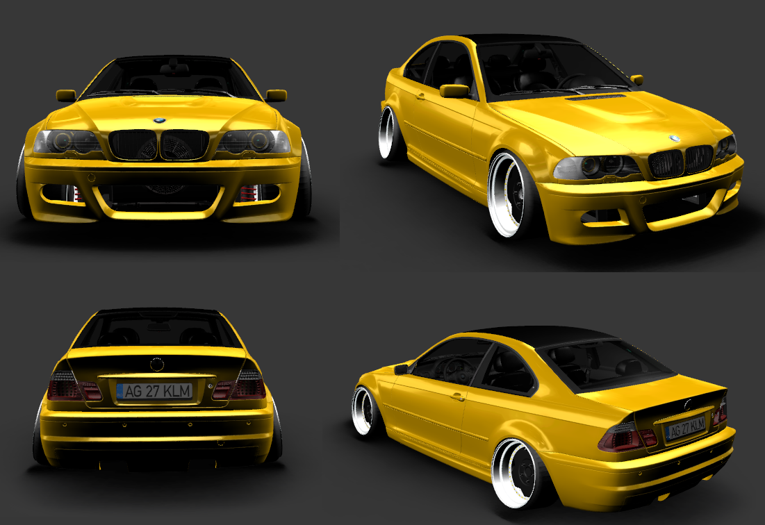 Narcis projects  E46_stance