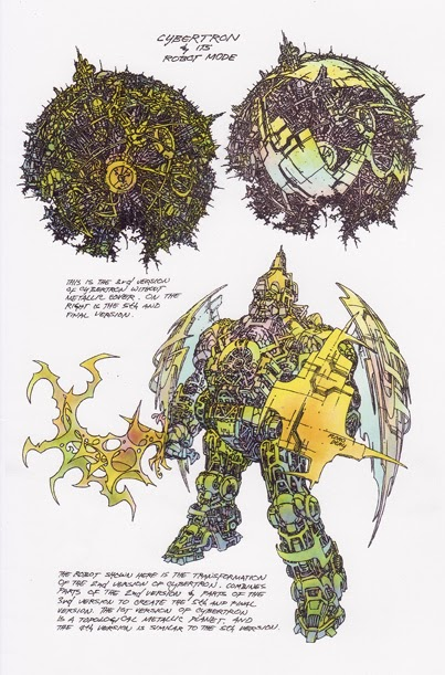 SITE WEB - Transformers (G1): Tout savoir en français: Infos, Images, Vidéos, Marchandises, Doublage, Film (1986), etc. - Page 2 Cybertron_and_its_robot_mode