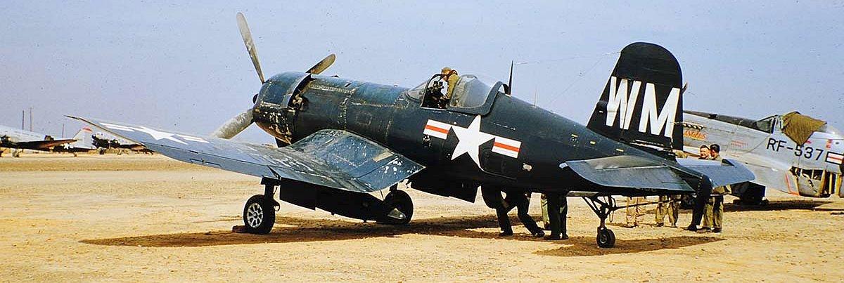 Kako u stvarnosti izgledaju avioni F4_U_Corsair_Korea_1952