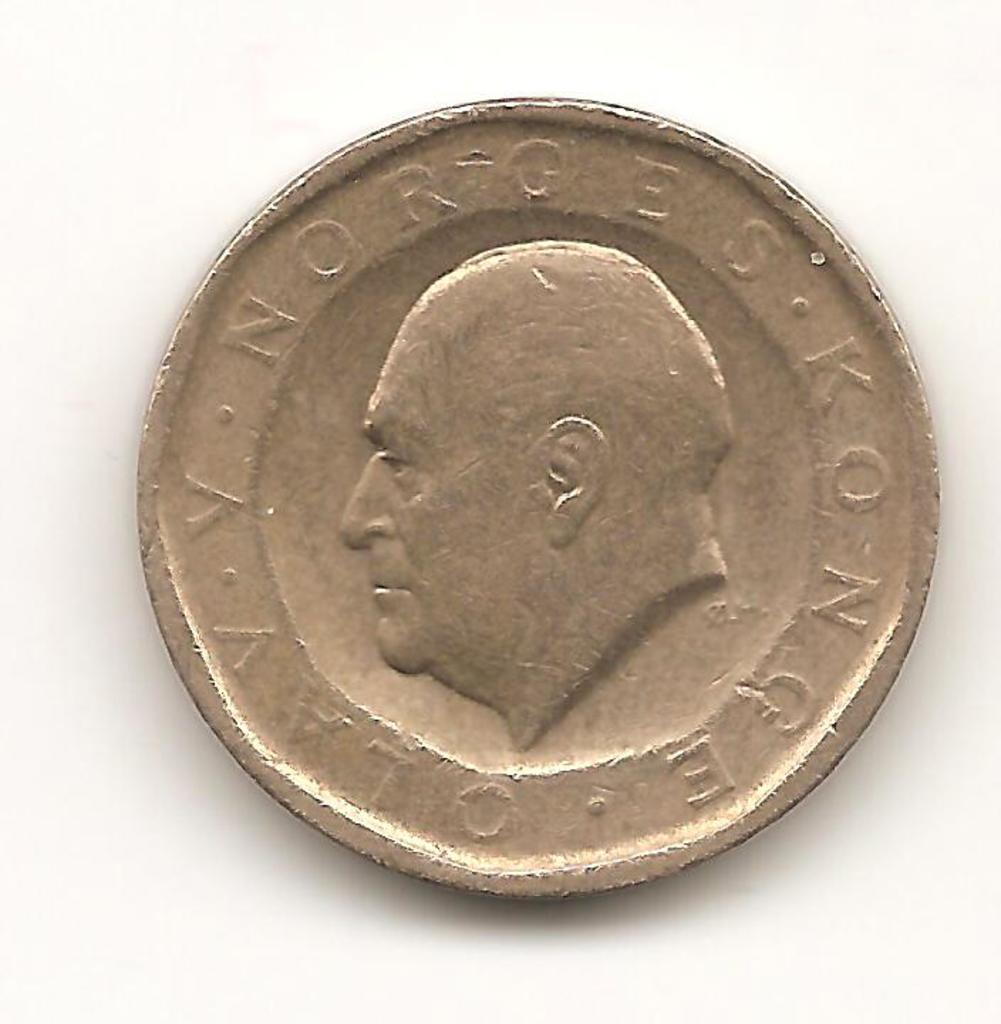 10 krone. Noruega. 1983  Image
