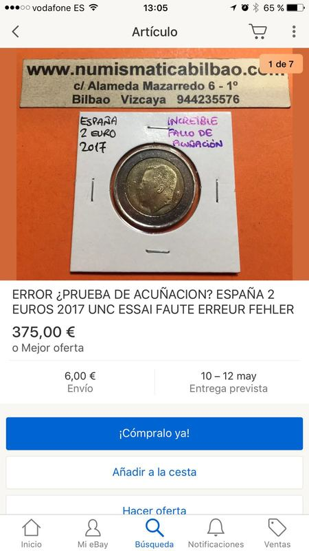 2 euros España 2017 error nuevo IMG-20170507-_WA0023