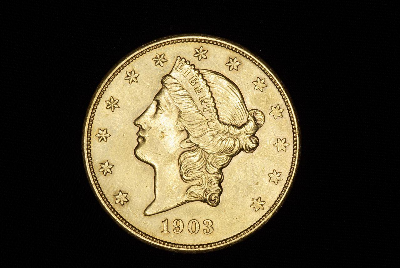 20 dolares 1904 Image