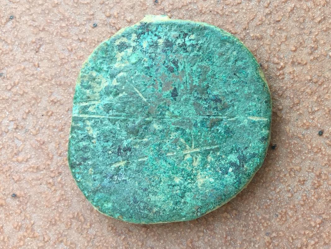 Sestercio de Marco Aurelio. RESTITVTORI ITALIAE IMP VI COS III /S C IMG_0005