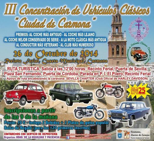 NUEVOS EVENTOS OCTUBRE 2014 Carmona_2014