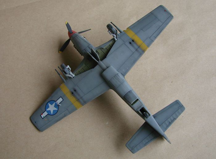 P-51 Mustang, Academy i P-51B Mustang (rebuild) Revell, 1/72 DSC02591